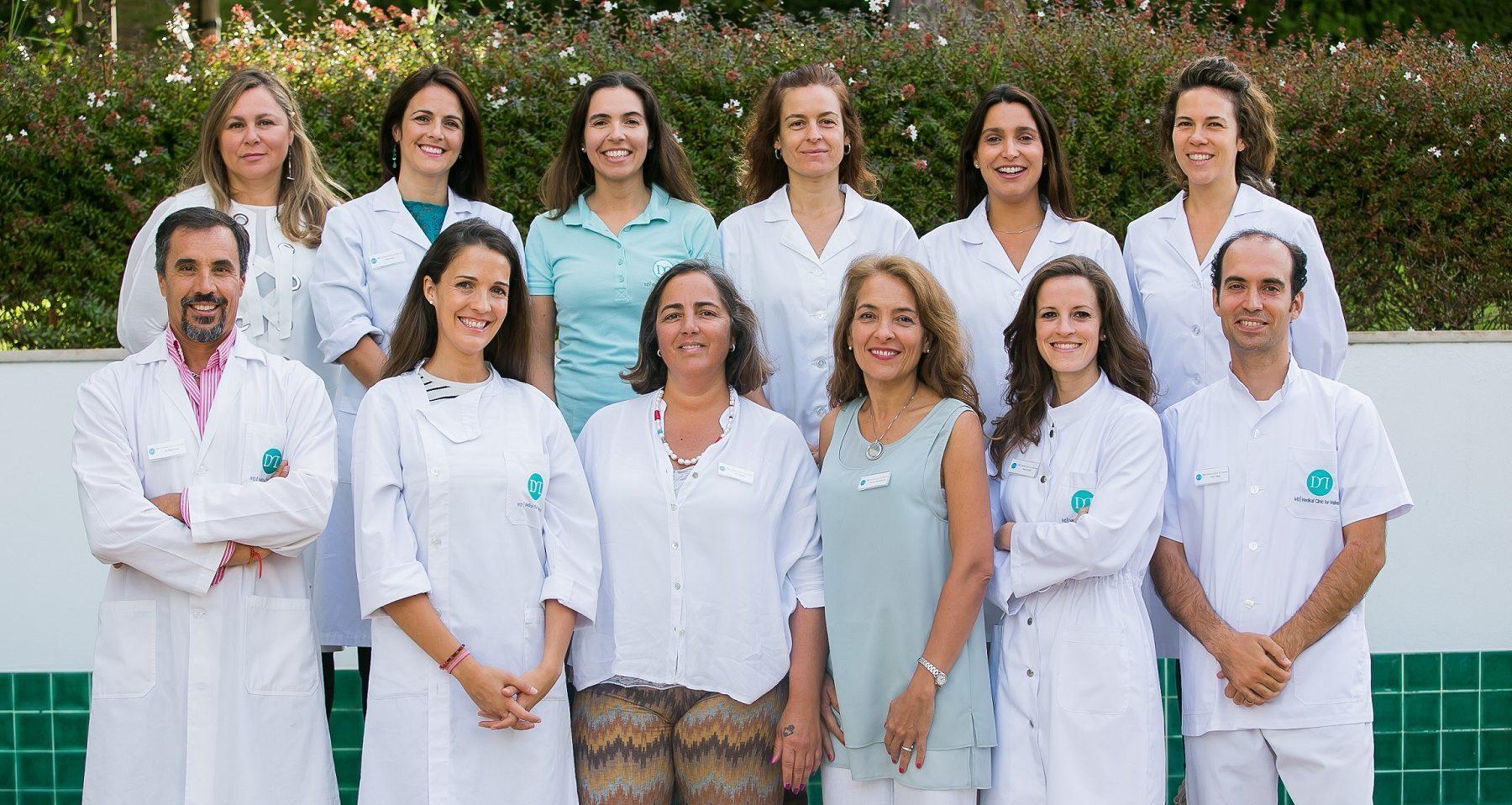 Uma equipa que se completa pela sua saúde